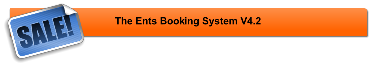 The Ents Booking System V4.2 SALE!